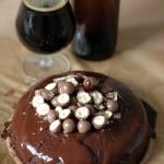 Kakaowe ciasto stoutowe